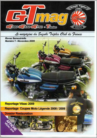 magazine annuel du suzuki triples club de france